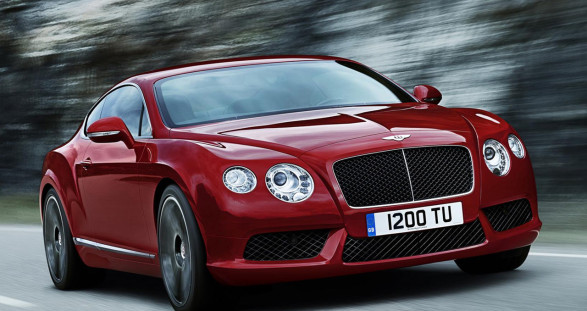 Let your hot escort lady take over. After a drive in the new Bentley Continental GT V8 S she is ready for anything ...