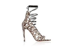 Your sexy escort with Amazon elaphe sandals by Aquazzura and hot lingerie - any questions?