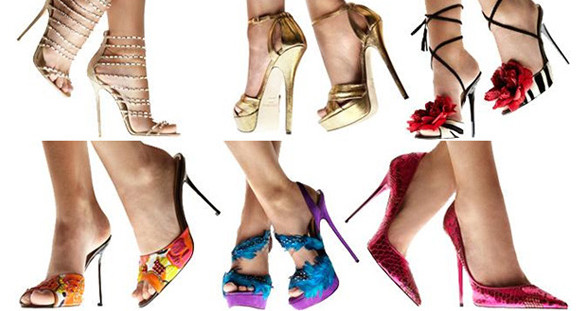 With the stylish high heels by star designer Jimmy Choo you will surely surprise your elegant escort model.