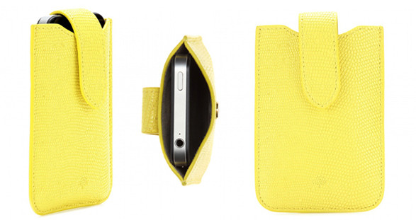 The exclusive iPhone cover by Mulberry is a stylish present for your charming escort model.