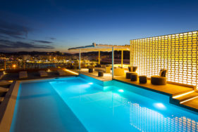 Hotel Aguas de Ibiza with luxury escort Ibiza