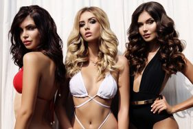 Escort girls at the Bulgari Resort Dubai