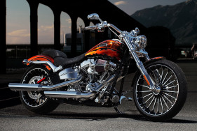 The only way to improve the CVO Breakout by Harley Davidson is your VIP escort girl as pillion.