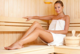 Lustful love games in the sauna: our elite escort service, as hot as it gets!
