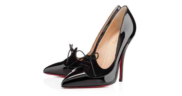 Excellence in perfection! The slender legs of your beautiful escort girl in the exclusive high heels by Christian Louboutin.