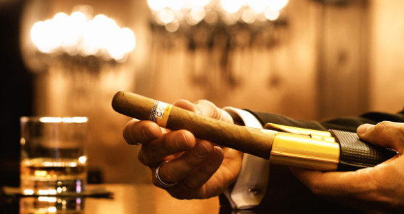 Cohiba Cigars - finest tobacco pleasures with a VIP Escort Model
