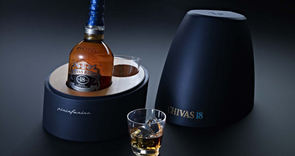 Your sexy escort lady & a glass of Chivas Regal 18