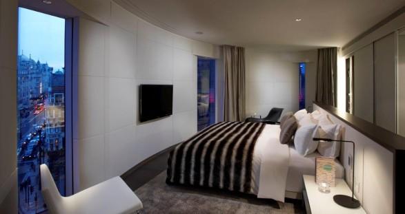 VIP escort service at the design hotel ME London