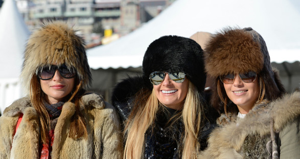 The high-goal polo tournament in St. Moritz offers the ideal setting for your VIP escort date.