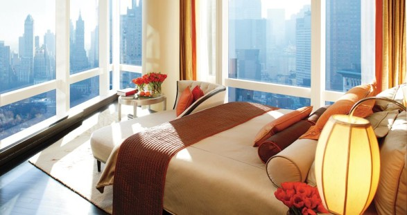 Enjoy a luxurious escort date in one of the best hotels in the world - the Mandarin Oriental in New York.