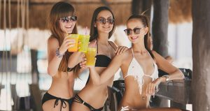 Escort girls at the OMNIA Bali Club
