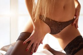 Sexy escort in Lingerie at Lake Tegernsee