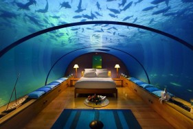 Escort Service Dubai in the Atlantis Underwater Suite