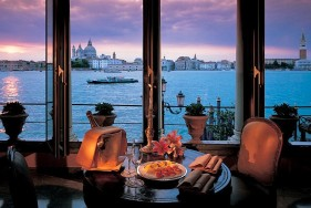 VIP escort service Venice at the Belmond Hotel Cipriani