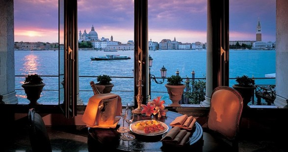 VIP escort service Venice at the Belmond Hotel Cipriani