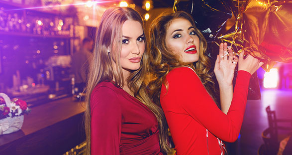 Escorts Girls in a London VIP Club