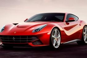 A men's dream come true: Sexy escort models and the new Ferrari F12