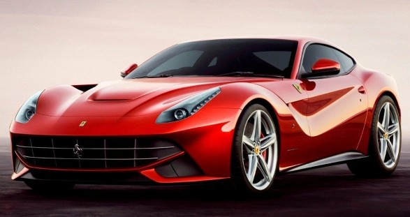 A men's dream come true: Sexy escort models and the new Ferrari F12