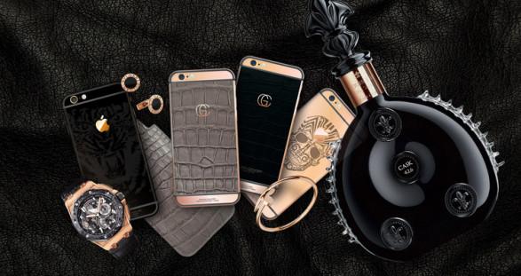 VIP escort models & Gold Concept iPhones