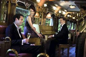 Luxury train ride in Asia with elite escort service