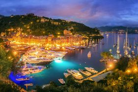 Portofino by night