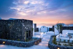 Luxury resort Santo Maris Oia & VIP escort