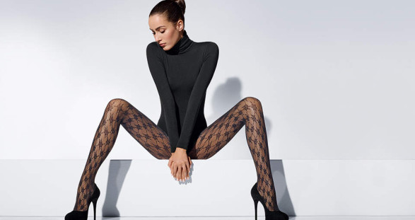 The hot nylon stockings by Wolford will have the already beautiful legs of your escort girl look even more sensual.