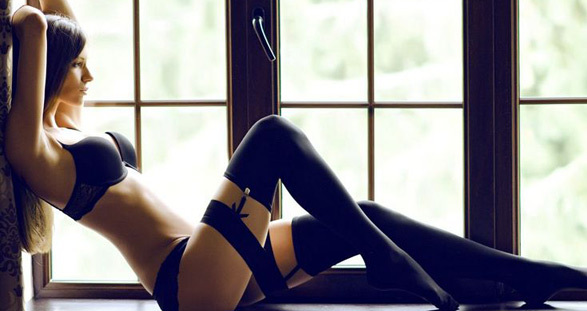 Your hot VIP escort in sexy lingerie